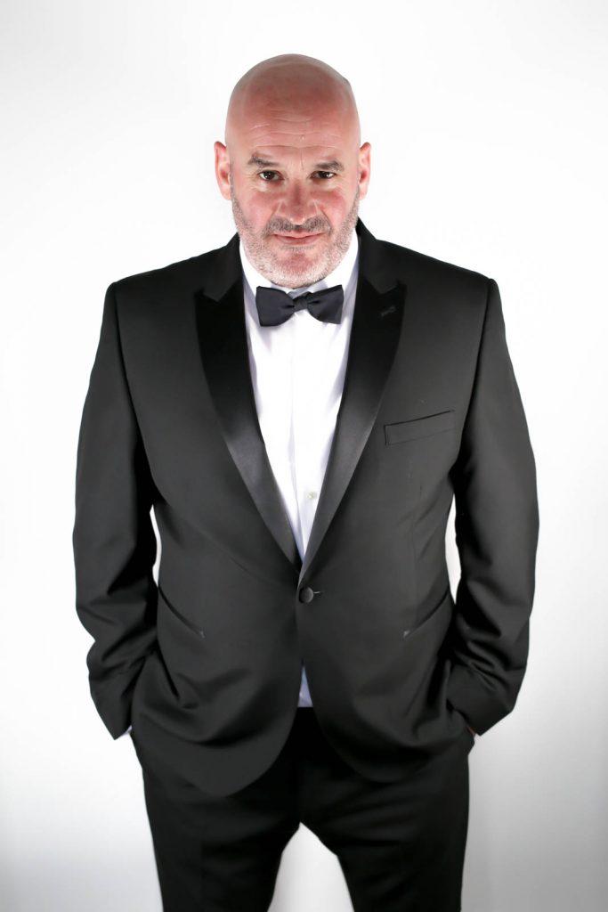 jack hayes events host in black tie